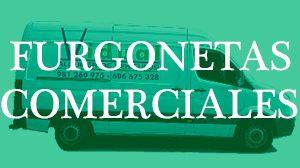 Alquiler furgonetas comerciales