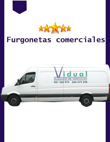 Alquiler De Furgonetas Vidual A Coruña